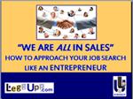 Sales Entrepreneurship Cover Slide